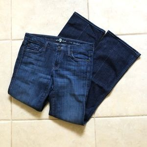 7 For All Mankind Flair jeans